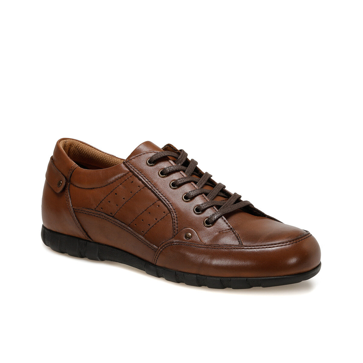 FLO NHT-02 Tan Male Casual Shoes Oxide