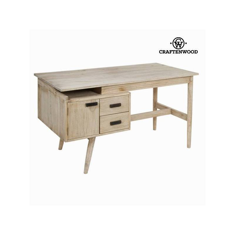 Desk Table Wood Mindi (140x70x76 Cm)-The Collection Pure Life By Craftenwood