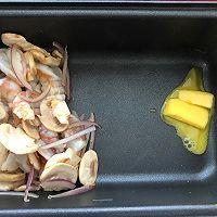 奶油虾仁蘑菇汤的做法图解3