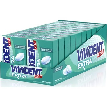 Vivident Box Extra Mint Flavored Gum 20 PCs