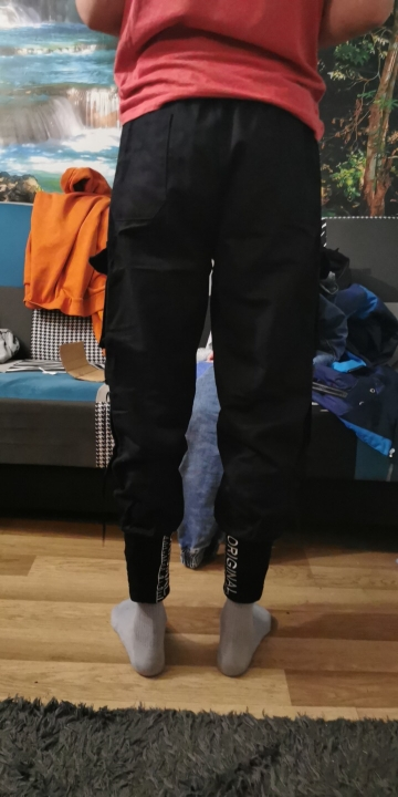 Streetwear Joggers  with Ribbons Pockets photo review