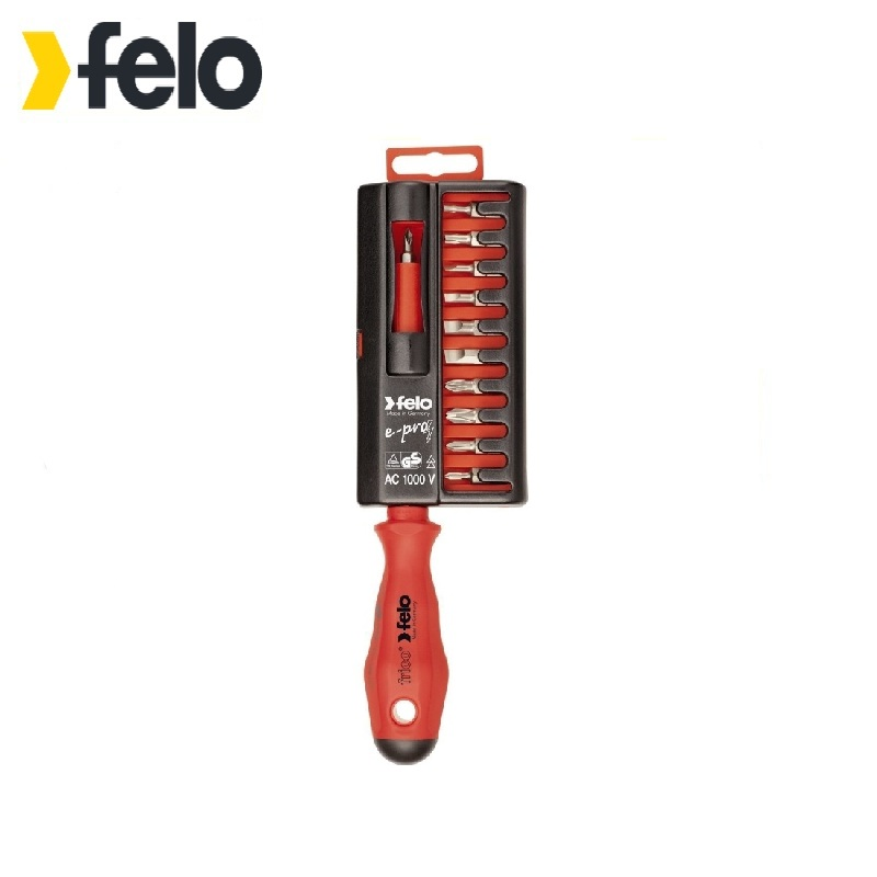 Felo dielectric screwdriver with a set of bits Used for installation and dismantling works with fasteners under voltage 6 90degree 0 3mm diamond bits with high quality used for cnc router machine