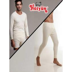 Australian Merino Wool Bej Thermal Underwear Russian Keep Warm and Dry Sets For Men Winter Thermo