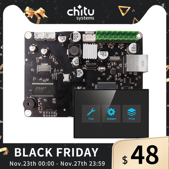 ChiTu L V3 SLA Controller Board With ChiTu Systems 32Bit  For LCD 3D Printer Motherboard Creality LD-002R/Photon free shipping 3dsway 3d printer board lerdge x motherboard arm 32 bit controller with 3 5 tft for education diy 3d printer