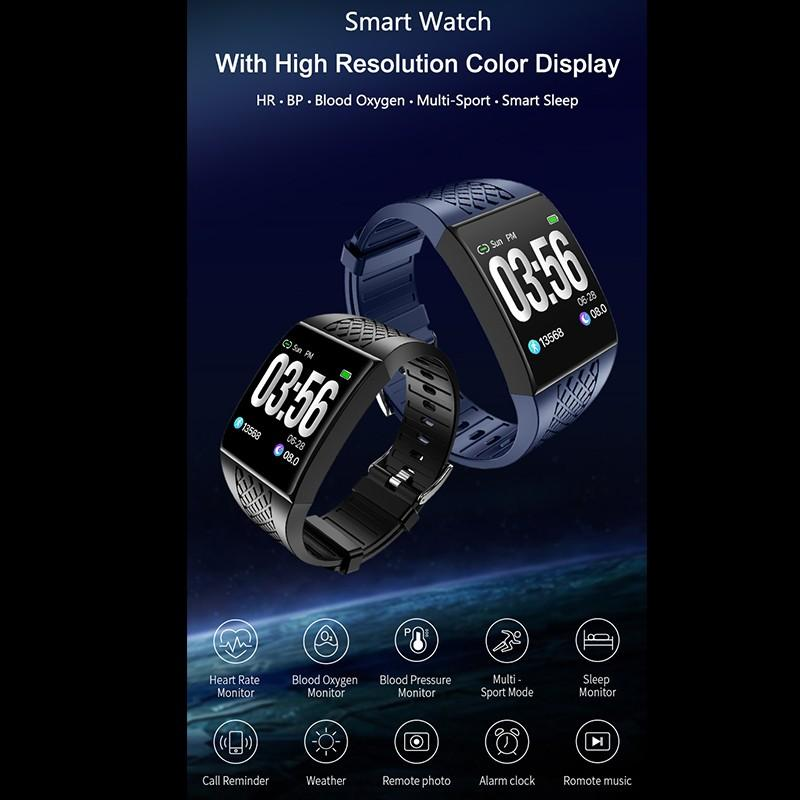 cheapest Large Curved Screen Smart Wristbands Fitness Bracelet Tracker Remote Control Camera Music Smart Band Watch Ergonomic Design New