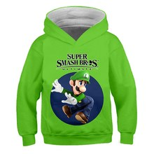 Anime Mode Super Mario Hoodies Kind Spielzeug Tuch 3D Druck Unisex Sweatshirt Casual Tops Brother Sonic Hip Hop Streetwear(China)