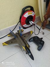 As described, it looks very good, checked ok, since I test you in flight, I will add sensa