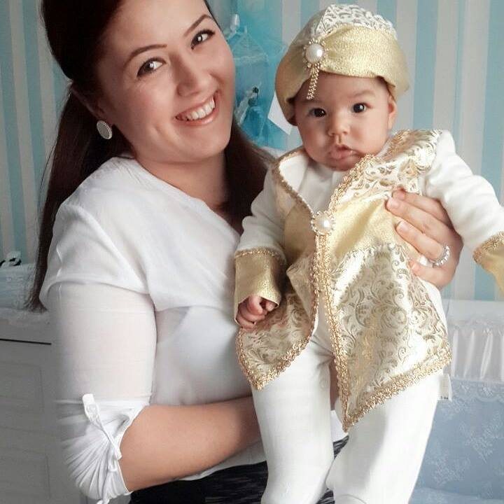 New Model Prince Baby Mevlüt Rompers