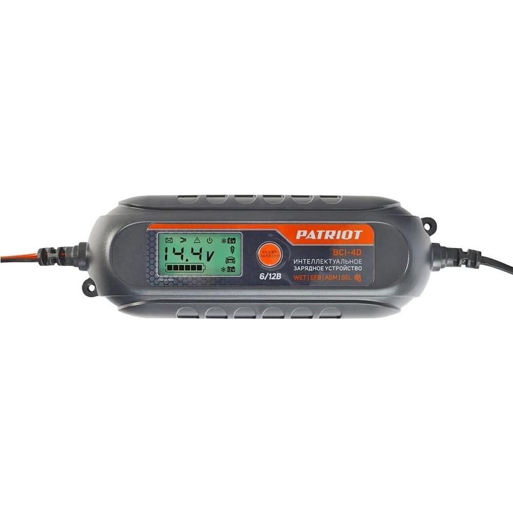 Устройство зарядное PATRIOT BCI 4D (емкость 1200 мА/ч; 6/12 В; дисплей; режим сохранения заряда; система защиты) Аксессуары для электроинструментов      АлиЭкспресс