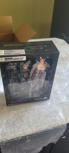 PLAY ARTS 27cm Metal Gear Quiet Action Figure Model Toys photo review
