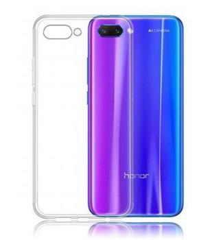 Funda de gel TPU carcasa silicona para movil Huawei Honor 10 Transparente