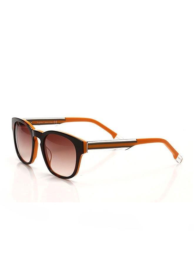 Unisex sunglasses bl 708 28 bone Brown organic 50 -- byblos