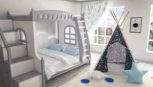 Starway patterned children's tent