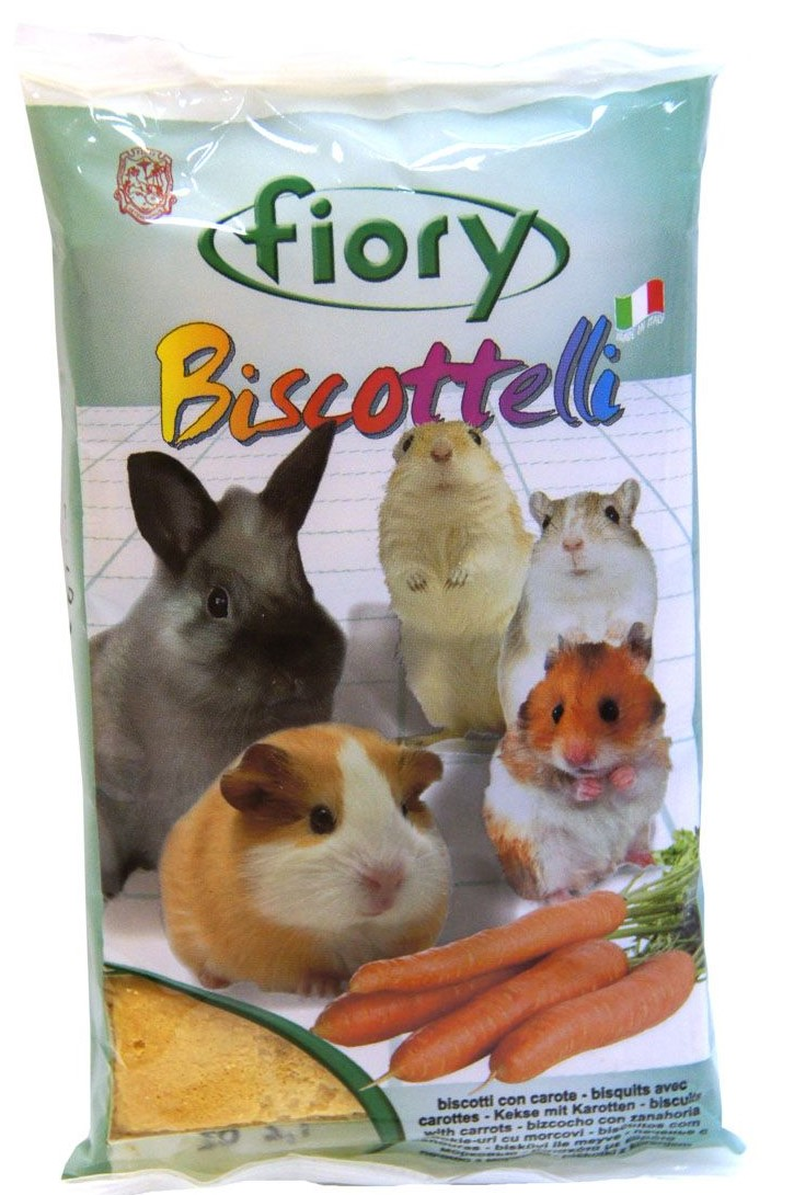Fiory бисквиты For Rodents With морковью (30g.)