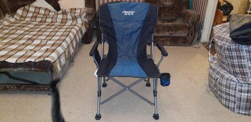 Cadeiras de pesca Camping Dobrável Load-bearing