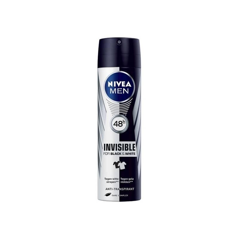 Deodorant Spray Men Black & White Unseen Nivea (200 Ml)