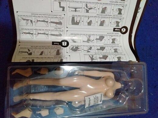 Figuras de ação costura figura modelo
