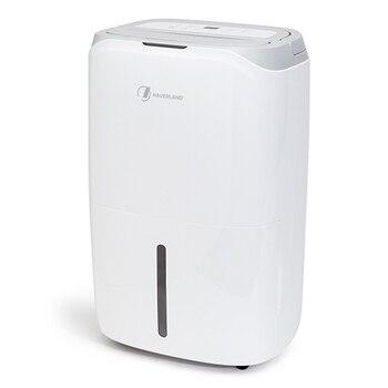 Deshumidificador 20L con filtro purificador de aire con asa y ruedas
