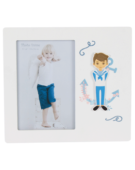 Lot 10's Portafotos Wood Communion Boy-Details and gifts for weddings, christening suits, communions, birthday & holiday
