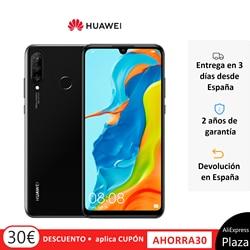 Huawei P30 Lite (4 жестких Гб оперативной памяти, 128 жестких ГБ ROM, Google, Android, бесплатно) [Версия для мобильного телефона на испанском языке] квадратные...