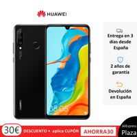 Huawei P30 Lite (4 hard gb RAM, 128 hard gb ROM, Google, Android, posted, free) [Mobile phone Spanish Version] Square Spain, Mobile, device flashing