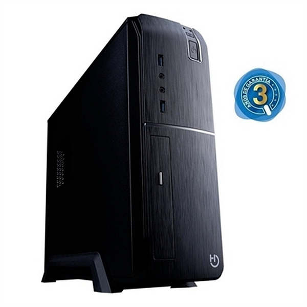 Desktop PC Iggual PSIPC334 I3-8100 8 GB RAM 240 GB SSD Black