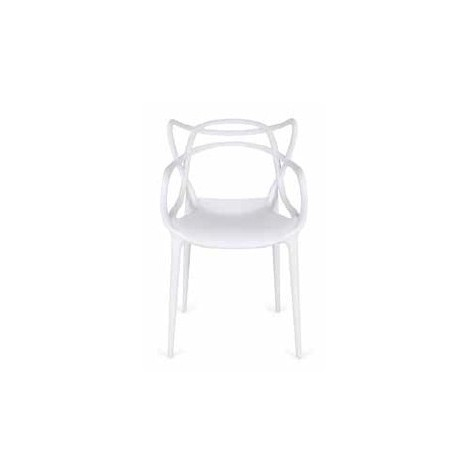 Pack 4 Polypropylene Chairs Shell.