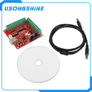 Image 1 - 1pcs CNC USB MACH3 100Khz Breakout Board 4 Axis Interface Driver Motion Controller CNC USB MACH3 100Khz Breakout Board 4 Axis In
