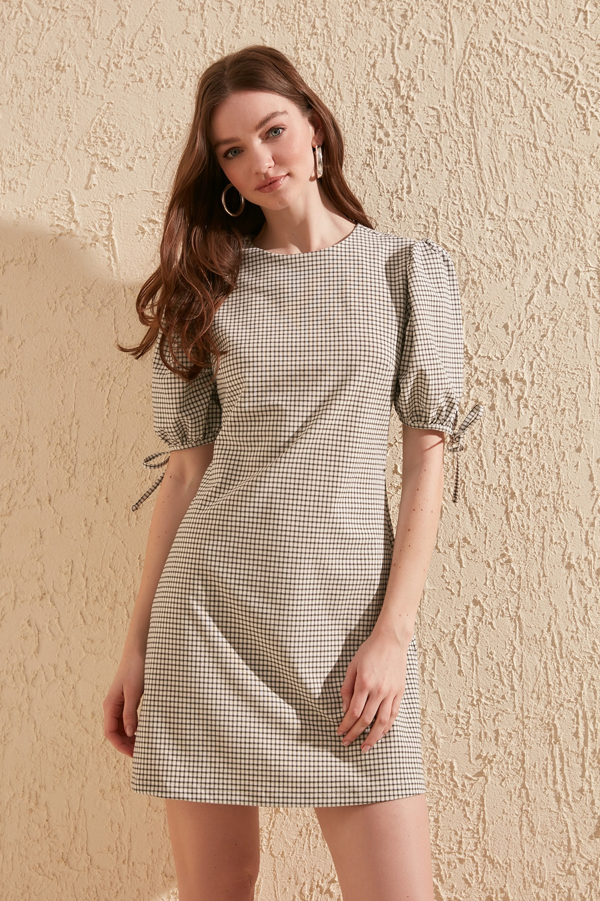 Trendyol Plaids Dress TWOSS20EL1325