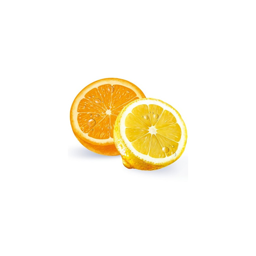 Mentolin Fresh Orange & lemon without sugar · 1Kg.