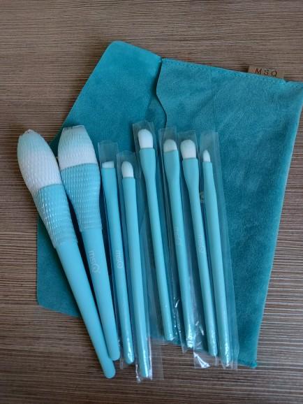 8PCS Makeup Brushes Sets Powder Foundation Blusher Eyeshadow Brush Candy Cosmetic Colorful Make Up NO MSQ LOGO With Bag reviews №1 62068