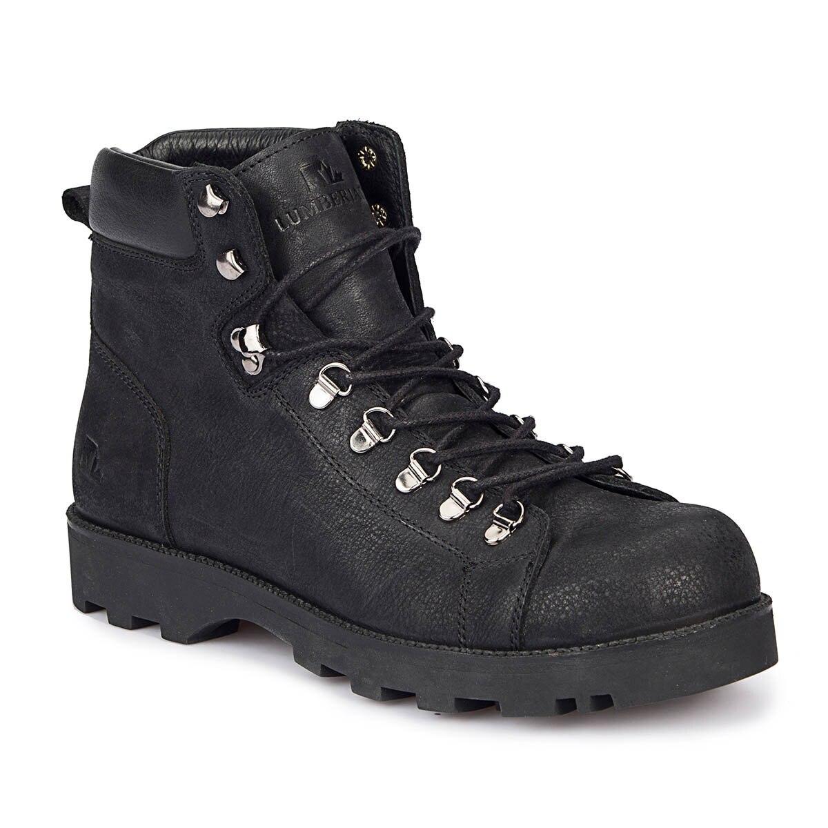 FLO ALTON Black Men Boots LUMBERJACK