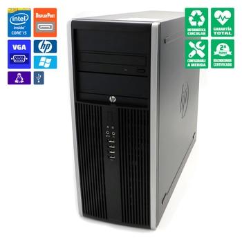 HP 8300 tower PC desktop i5-3470 8GB DVD/RW graphic MSI GF GT710 2GB HDMI/DVI/VGA WiFi Windows 10 Home orig. Reconditioned