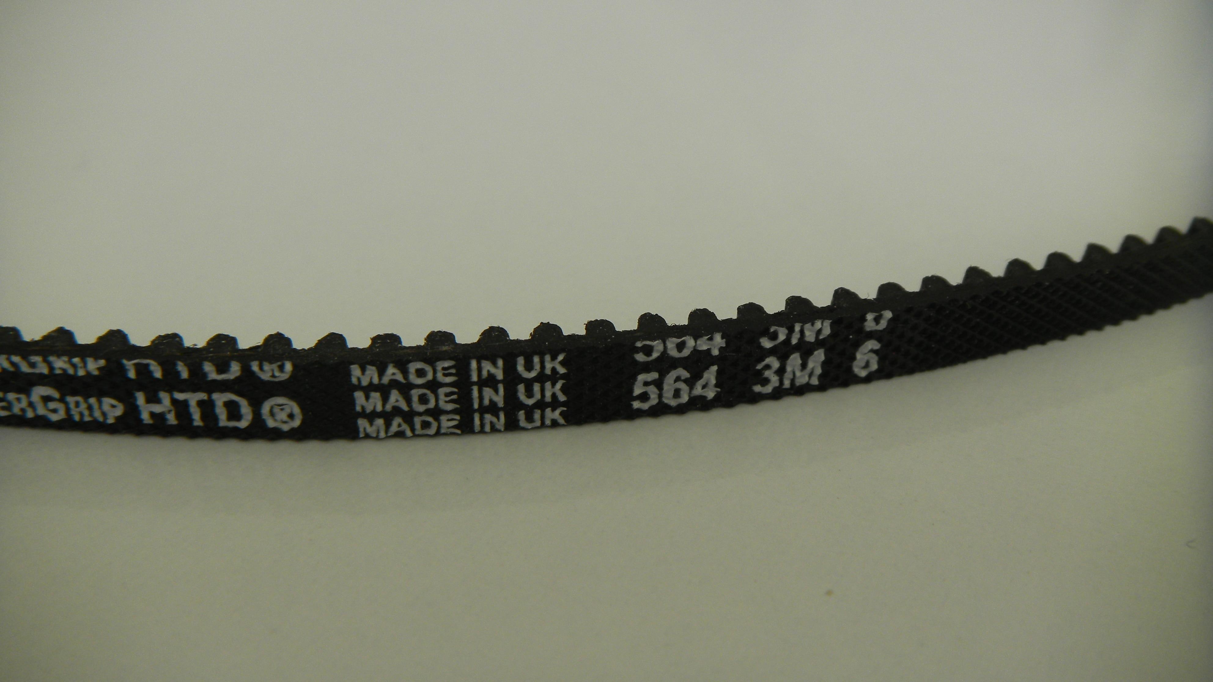 Zahnriemen HTD 6 mm Breit 188 Zähne Timing Belt 564-3M