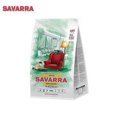 SAVARRA Indoor Adult Cat Сухой корм для взрослых кошек живущих в помещении 400г Утка/рис