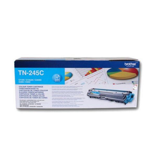 Bilgisayar ve Ofis'ten Toner Kartuşları'de Orijinal Toner Brother TN245C mavi title=