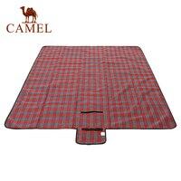 Camelo dobrável folha de alumínio esteira viagem ao ar livre portátil praia cobertor multiplayer esteira turística acampamento caminhadas 200*200 cm