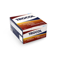 Trocol Sachet for Joint Pain (300g) Glucosamine Chondroitin Collagen Type II-Hyaluronic acid - Supplementary Food Protects and supports the immune system