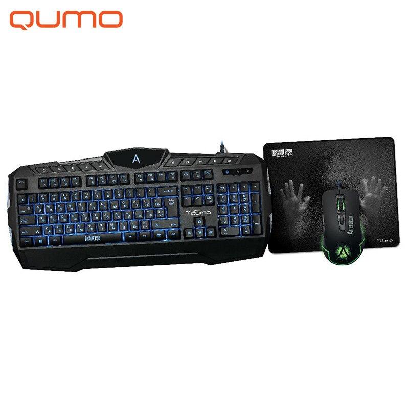 Game Set Qumo Aftershock K52/M68
