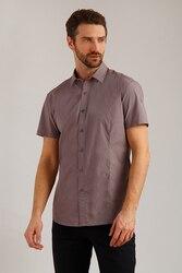 Finn Flare мужская рубашка полуприлегающего покроя из 100% хлопка, коллекция весна-2019