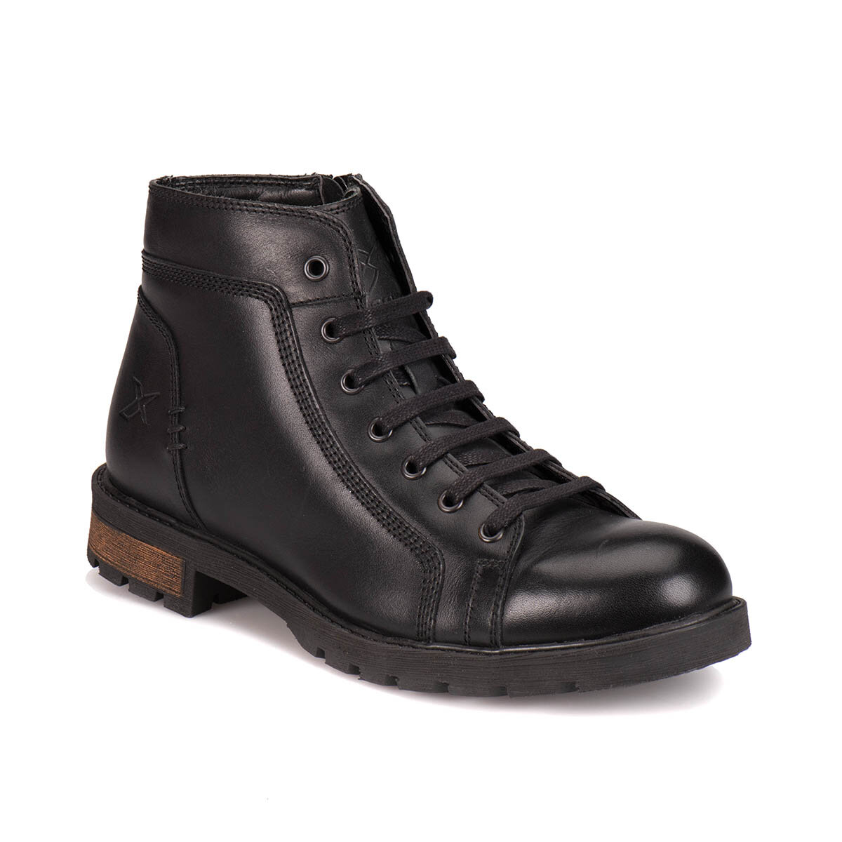 FLO A1305484 Black Men Boots KINETIX