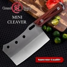 Tasak nóż ręcznie kute Mini Chef noże kuchenne narzędzia do grillowania rzeźnik mięso topór odkryty Camping domowe gotowanie prezent na boże narodzenie