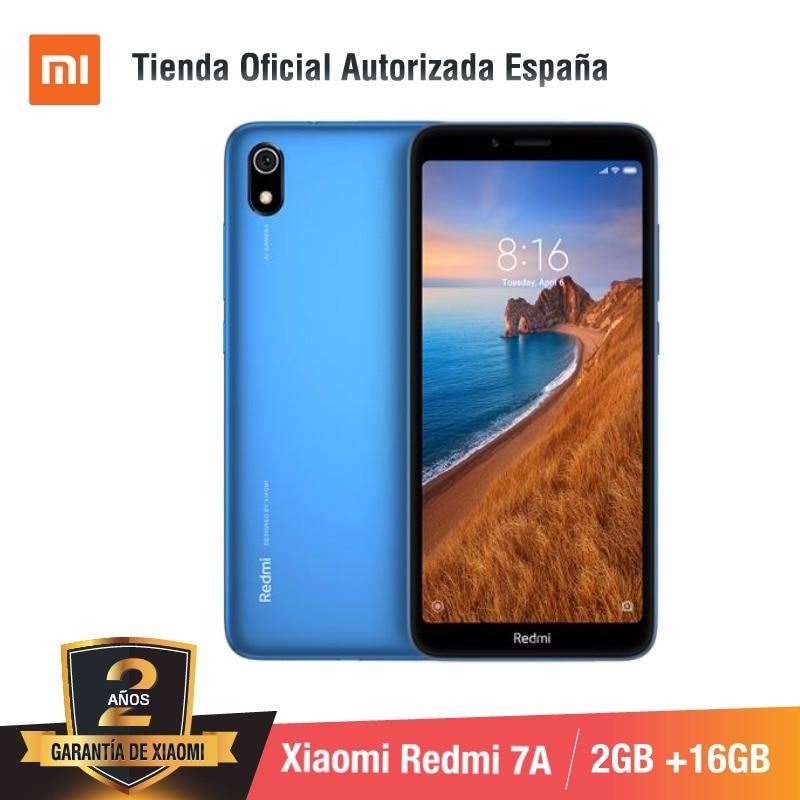 [Global Version For Spain] Xiaomi Redmi 7A (Memoria Interna De 16GB, RAM De 2GB, Camara De 13MP+5 MP)