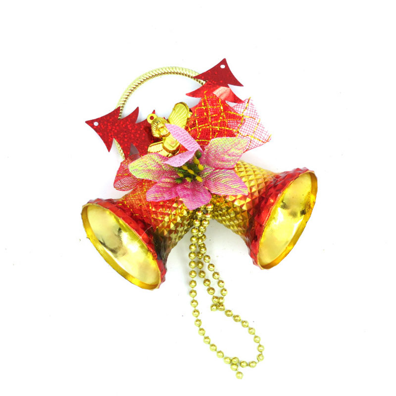 European Colorful Bells For Home Wedding Party DIY Handmade Jewelry Campanula Accessories Christmas Tree Ornaments in Christmas Bells from Home Garden