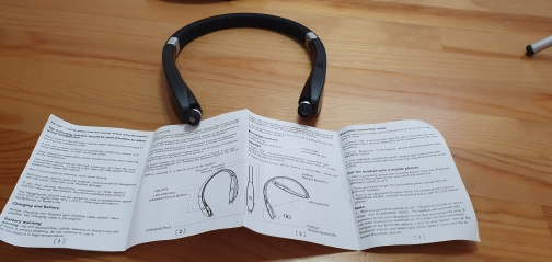 Amorno Neckband Earphones Wireless Fone Bluetooth Headphones with Mic Handsfree TWS Earbuds Noise Canceling Headphone Headset|Phone Earphones & Headphones|   - AliExpress