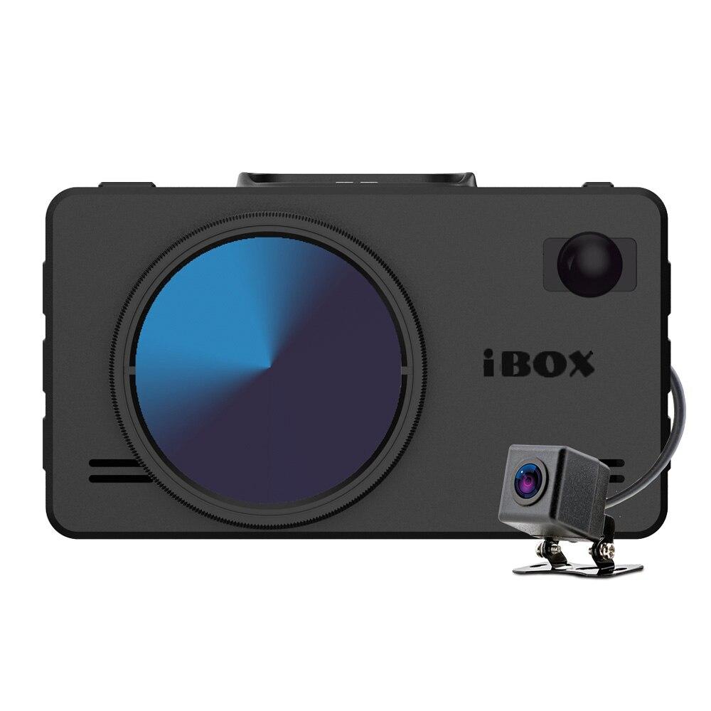 Видеорегистратор с радар-детектором iBOX iCON LaserVision WiFi Signature Dual+ Камера заднего вида