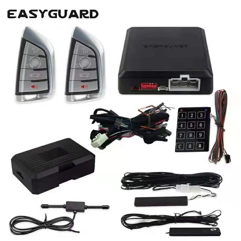 EASYGUARD CAN BUS Style Pke Kit Fit For BMW E86,E90,E81,E91,E84,F25,E60,E70,E64,F12 After 2007 Plug & Play Easy DIY Installation