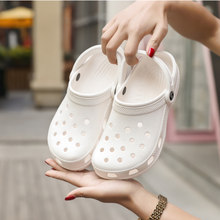 Women Shoes Croc Hole Shoes Men Beach Shoes Light Sandals Home Slippers Outdoor