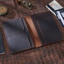 SIKU men's leather passport…
