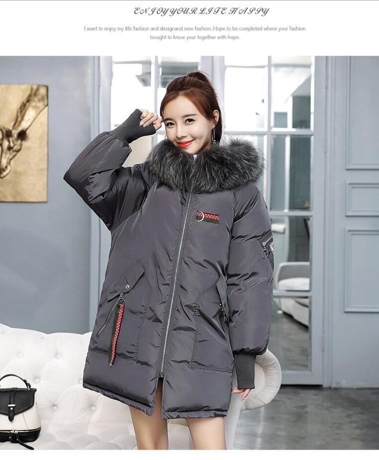 date coton veste Sustans   pais l  che broderie chaud bien femmes hiver veste    capuche hiver manteau femmes Parkas M 3XL-in Parkas from Women's Clothing    2
